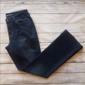 Old Navy Curvy Boot Cut Dark Wash Jeans Size 10